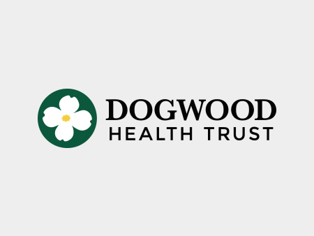 Dogwood Health Trust Logo with grey background