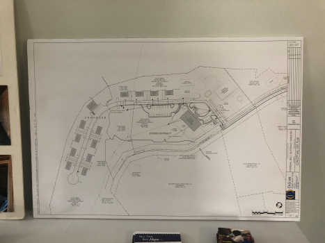 Blue print for outreach community layout